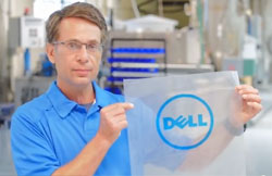 Dell sustainable packaging design