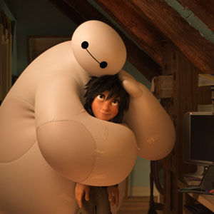 Disney's Baymax from Big Hero 6, a friendly healthcare robot.
