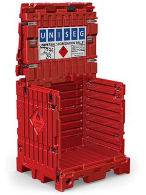 UniSeg Pallet - Product Design Melbourne